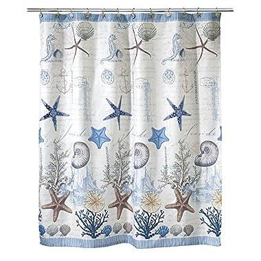 Avanti Linens Antigua Shower Curtain, Multi