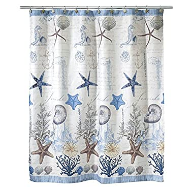 Avanti Linens Antigua72  x 72  Shower Curtain Multi-Colored