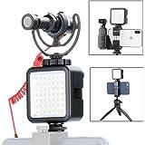 Ulanzi 49LEDビデオライト DJI OSMO Pocket Sony A6400 Canon DSLR カメラ ウェディング インタビュー マクロ写真などに対応