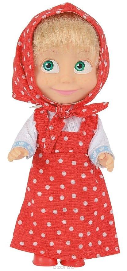 Amazon.com: Muñeca de juguete de 4.7 in y el oso rojo ...