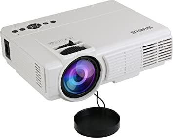 Mini proyector, proyector de vídeo LED portátil, Soporte 1080P HD ...