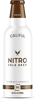 product image for Califia Farms- Mocha Nitro Cold Brew Coffee with Almondmilk, 10.5 Oz, Premium Arabica, Non Dairy, Plant Based, Vegan, Non-GMO