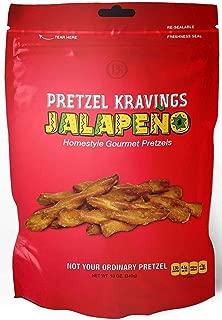 product image for Dakota Style Jalapeno Pretzel Kravings, Crunchy Snack Pretzels, 10 Ounce