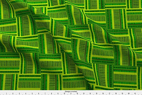 - Spoonflower Eugene Fabric Eugene Oregon Woven Check by Pd Frasure Printed on Cotton Spandex Jersey Fabric by the Yard