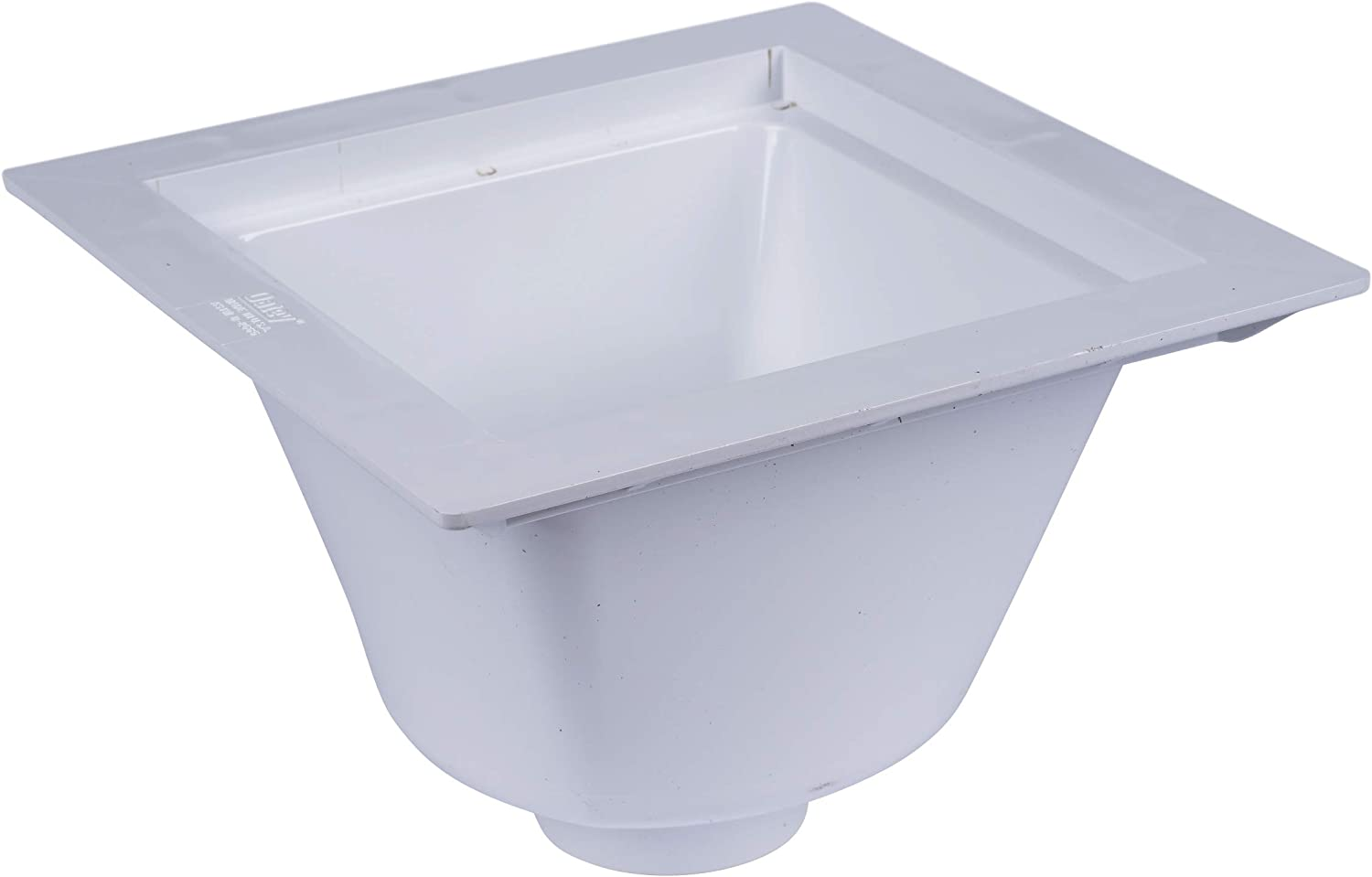 Oatey 42721 Floor-Mounted Utility Sink with 3-Inch Socket