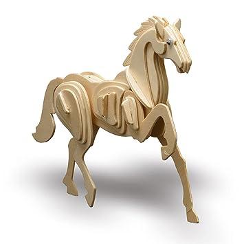 Pebaro - Maqueta madera caballo: Amazon.es: Juguetes y juegos