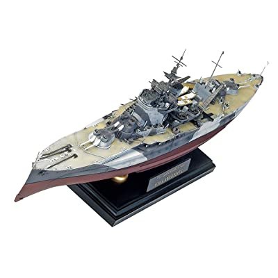 Academy Queen Elizabeth Class H.M.S. Warspite Boat Model Building Kit: Toys & Games