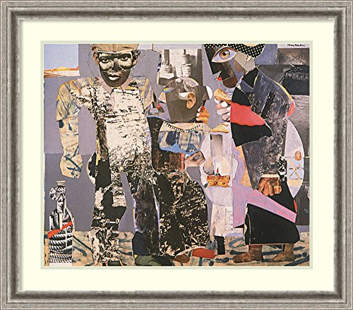 Framed Wall Art Print Return of The Prodigal Son by Romare Bearden 31.88 x 28.00
