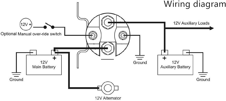 Stinger SGP38 Car Stereo Audio 80 Amp Relay Battery Isolator