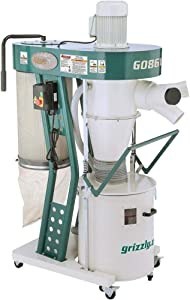 Grizzly Industrial G0861-2 HP Portable Cyclone Dust Collector