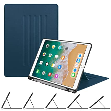 the best attitude d8188 c0706 Fintie Case with Built-in Apple Pencil Holder for iPad Air 10.5