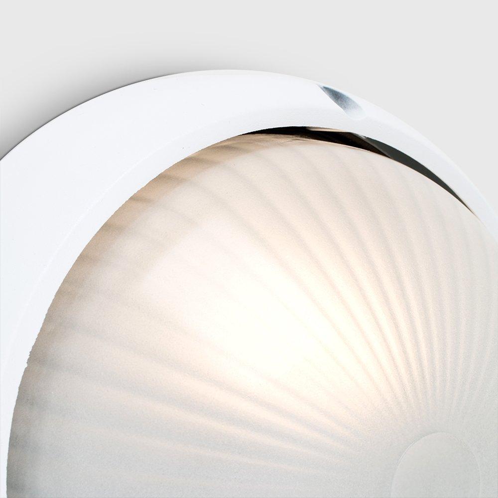 MiniSun Moderno aplique de pared para exterior l/ámpara clasificada IP54 protecci/ón contra el agua