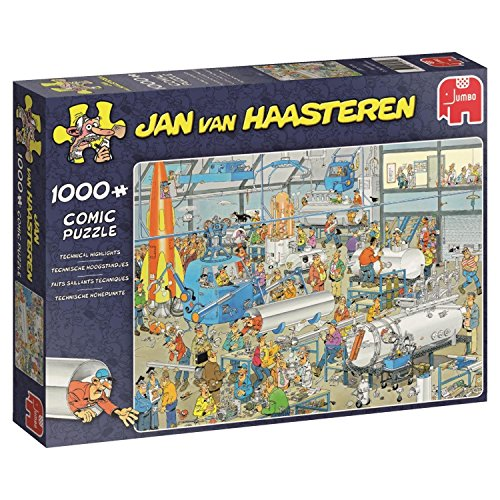 Jan van Haasteren 19050 Technical Highlights Jigsaw Puzzle (1000-Piece)
