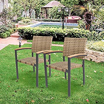 Hallandale Outdoor Furniture Dining Set, Cast Aluminum Table and Chairs for Patio or Deck 5-Piece Set