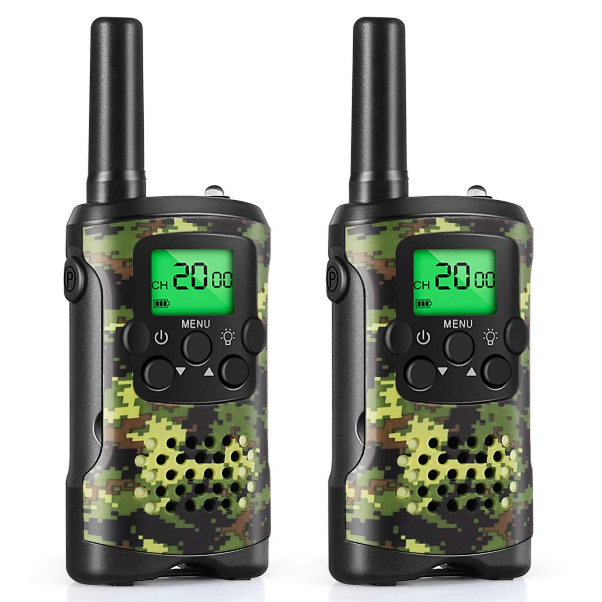 Walkie Talkies for Kids, Toys for 3-12 Year Old Boys 22 Channel 3 Mile Long Range Kids Toys and Kids Walkie Talkies, and Top Toys for for 3 4 5 6 7 8 9 Year Old Boy and Girls by UOKOO (Image #1)