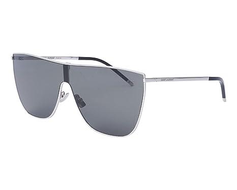 Yves Saint Laurent - Gafas de sol - para mujer Plateado ...