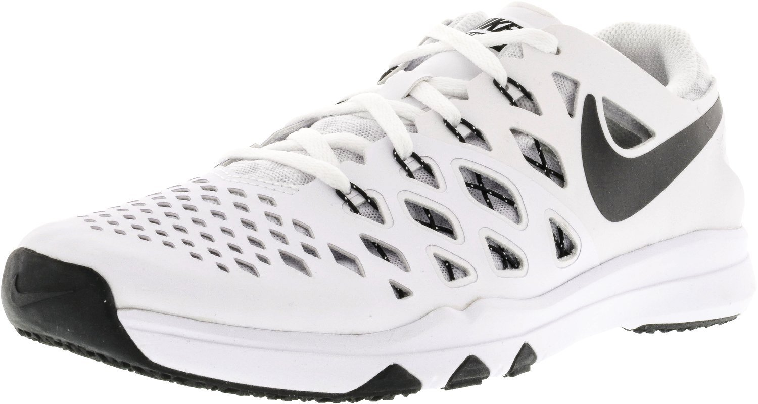 NIKE Men's Train Speed 4 Running Shoe B07458BW5Y 15 D(M) US|White / Black