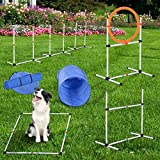 PawHut 5 Piece Outdoor Game Dog Agility Training