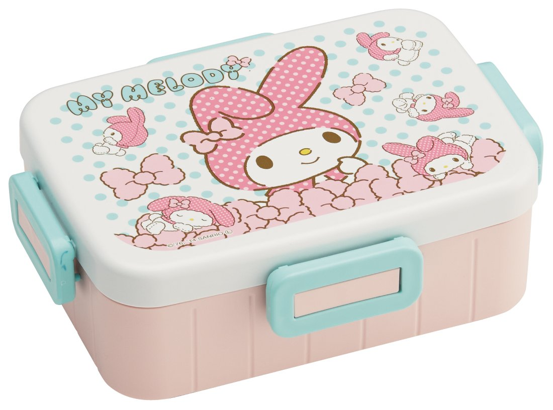 Skater 4-point lock lunch box 650ml My Melody stuffed toys panic