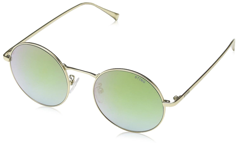 Sting SS4898-gafas de sol Unisex adulto Azul Azul (SEMI MATT ...