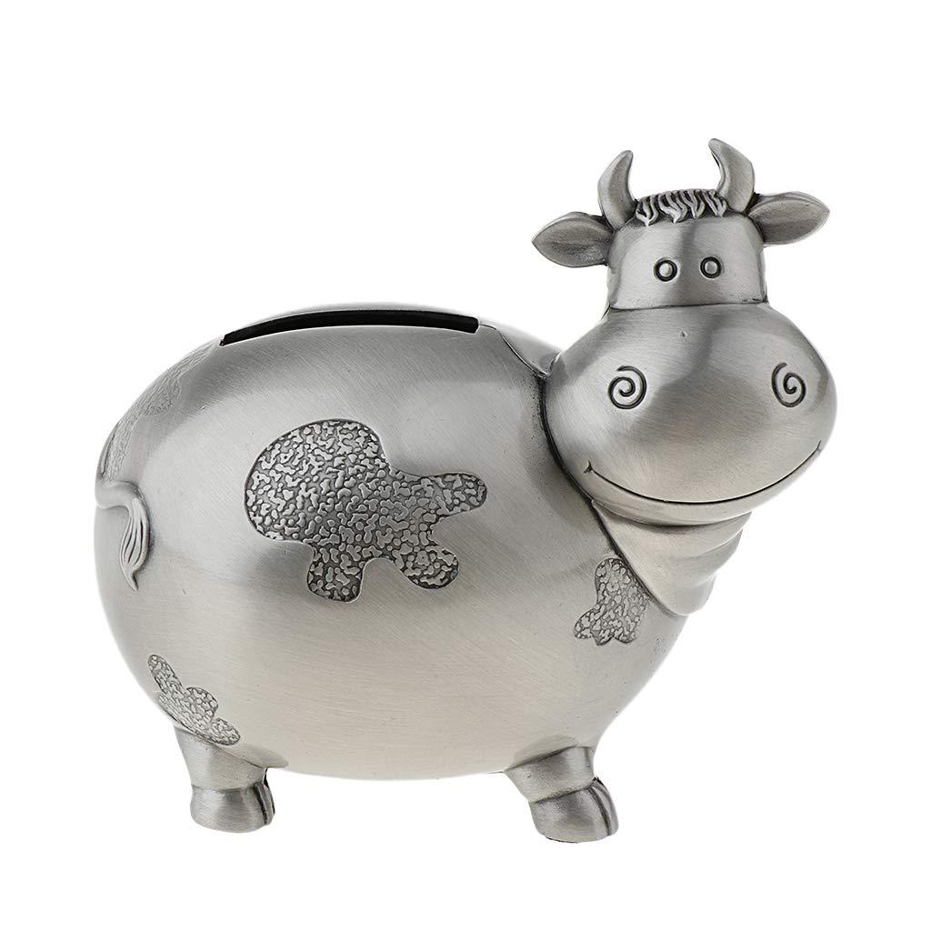 Eule Unbekannt Baoblaze Sparschwein Riesen Spardose Geldspardose aus Legierung Hochzeit Geburtstag