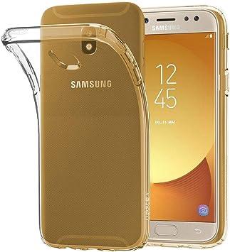 ebestStar - Coque Compatible avec Samsung J5 2017 Galaxy SM-J530F Etui Housse Silicone Gel Anti-Choc Ultra Fine Invisible, Transparent [Appareil: ...