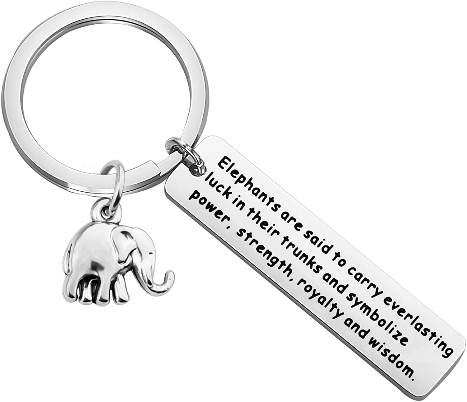 Details about  /LUCKY ELEPHANTS LOVE YOU LUCK PHRASE KEY CHAIN CLIP FOR PURSE BAG FOB BACKPACK