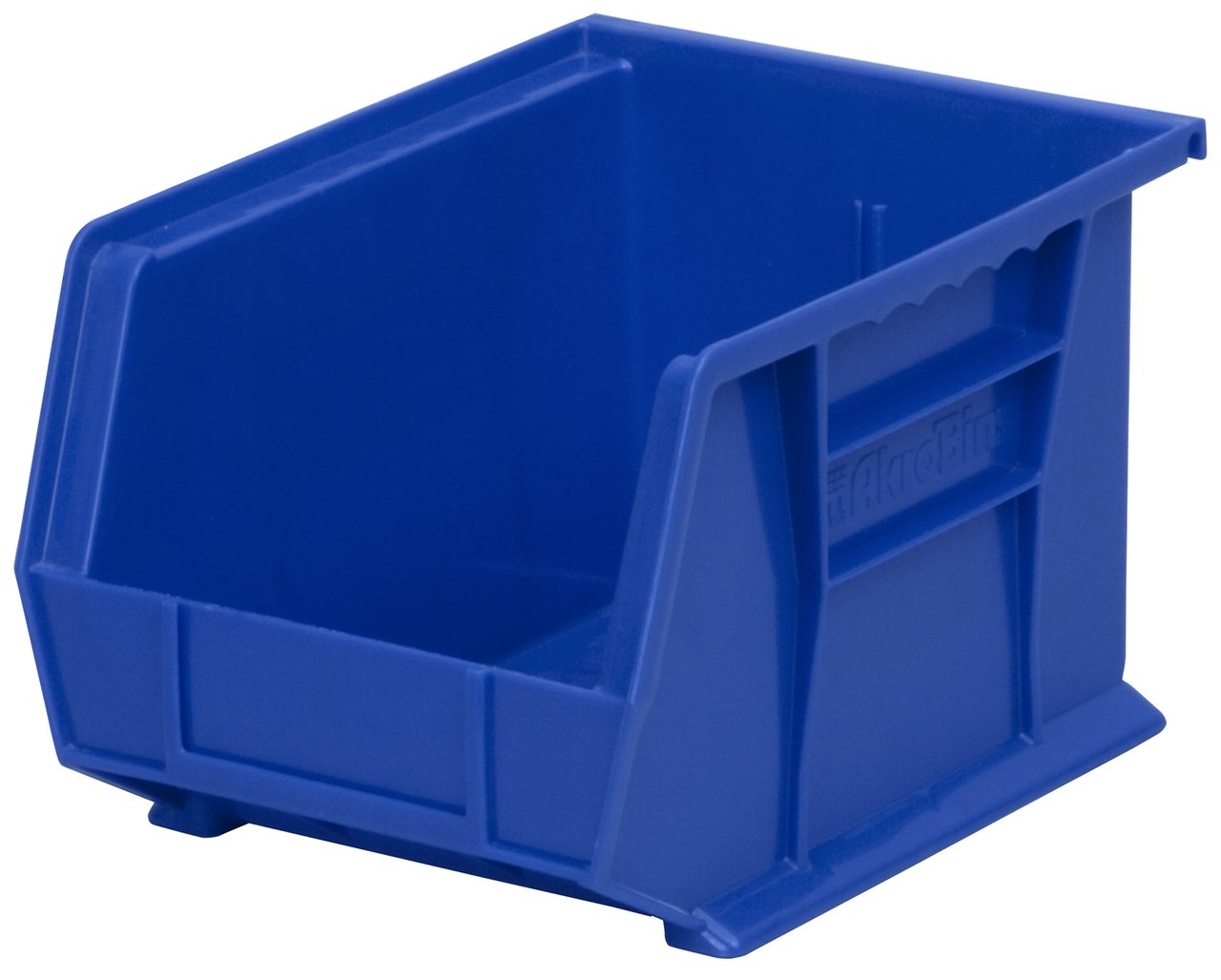 Akro-Mils 30239 Plastic Storage Stacking Hanging Akro Bin, 11-Inch by 8-Inch by 7-Inch, Blue, Case of 6