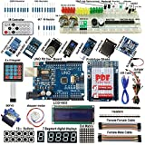 Arduino-compatible UNO R3 Starter Kit I2C 1602LCD Servo Gas Sensor Stepper Relay