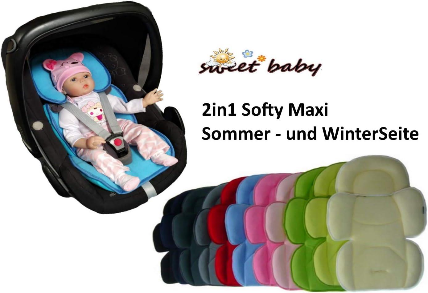 Sweet Baby ** SOFTY MAXI AZUL CLARO ** Cojín reductor para silla ...