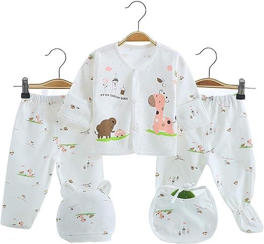 2017 Hot sales 5PCS Newborn Baby Clothes 0-3 Month Boy Girls Cotton Cartoon Unde