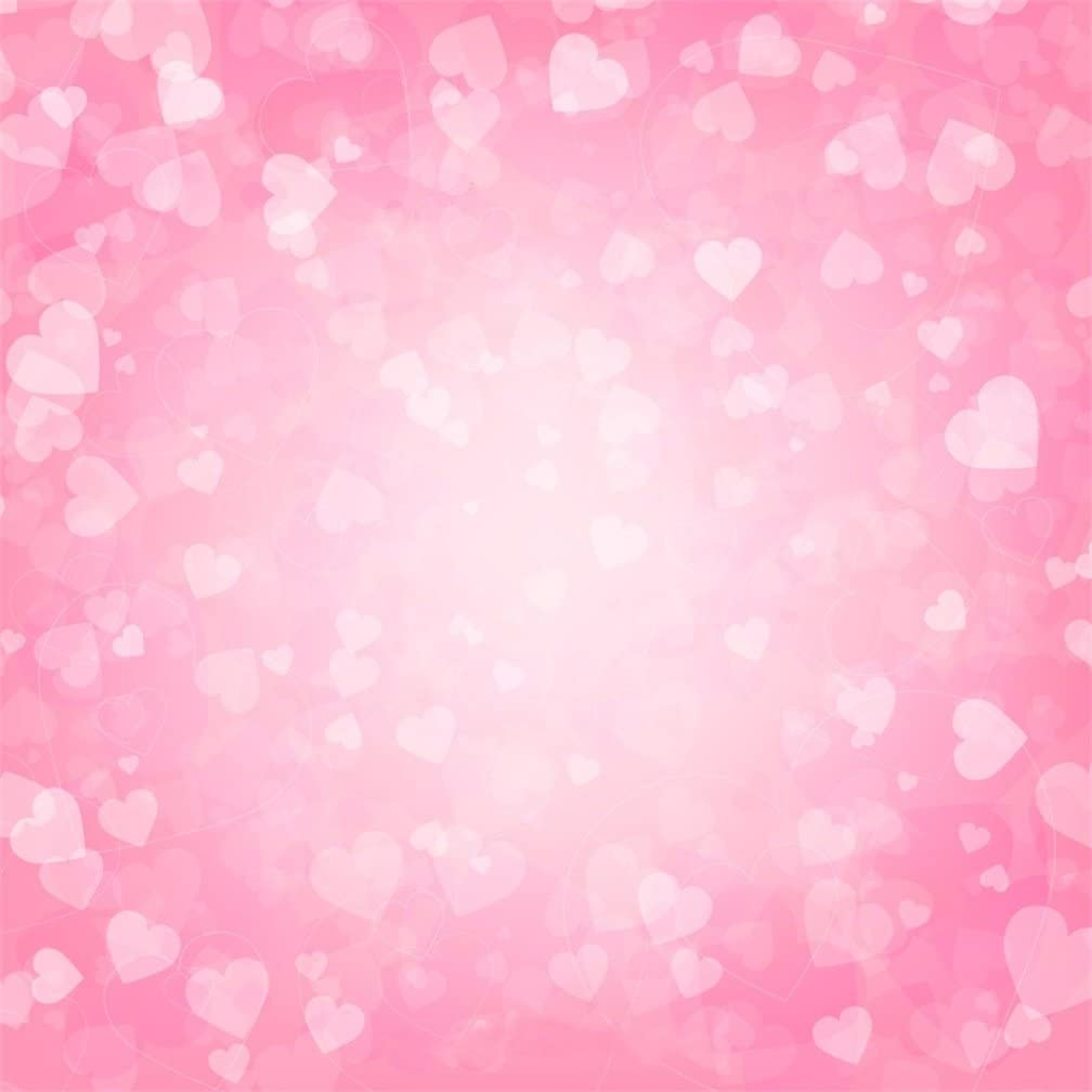 Valentines Day 8x10 FT Photography Backdrop Floral Arrangement with Bird Soft Daisies Vintage Love Background for Child Baby Shower Photo Vinyl Studio Prop Photobooth Photoshoot