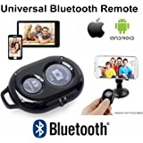 DaVoice® [Universal Bluetooth Remote Control] Shutter IOS and Android compatible with iPhone 6, 6 plus, 5s, 5c, 5, 4s, 4, iPad Air 4, 3, 2, iPad Mini 1, 2, iPod Touch 5th +, 4th, Samsung Galaxy S6, S5, S4, S3, S2, Note 1, 2, 3+, Tab 2, Moto X Nexus 4, 5, 7 + , Xiaomi 1S, 2 S, 3 +, Sony Xperia S, HTC, and many other Android Phones! - Use with Selfie Stick for Self Portrait, Taking Videos and much, much more... Best cell phone bluetooth camera remote on the market!