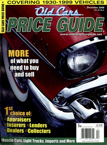 the old cars price guide