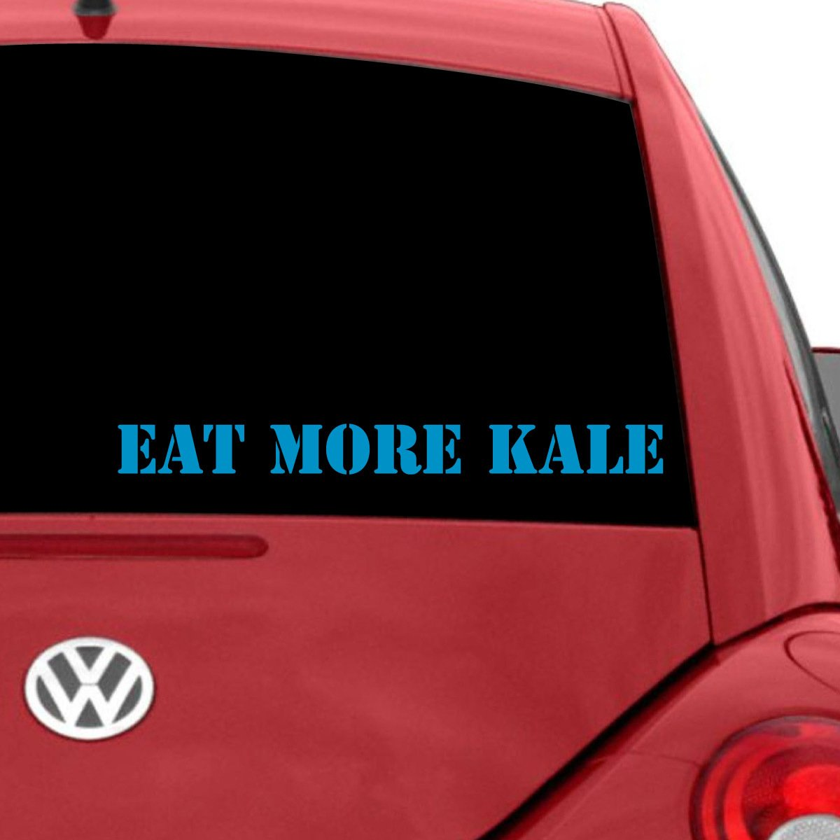 品質満点 Eat More Kale車デカール W B07235MTLG、Die グレー Cut Vinyl Decal for Windows車、トラック、ツールボックス、ノートパソコン、ほぼすべてmacbook-ハード、滑らかな表面 3