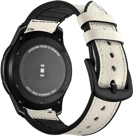 Correa Samsung Gear S3 Frontier Cuero, Aottom Correas Reloj ...