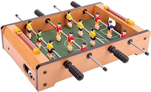 YIHGJJYP Futbolin Juguete Máquina de fútbol Multijugador Mesa ...
