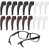 18 almohadillas adhesivas de silicona para gafas de alta calidad y retenedores de gafas, almohadillas adhesivas para nariz, g