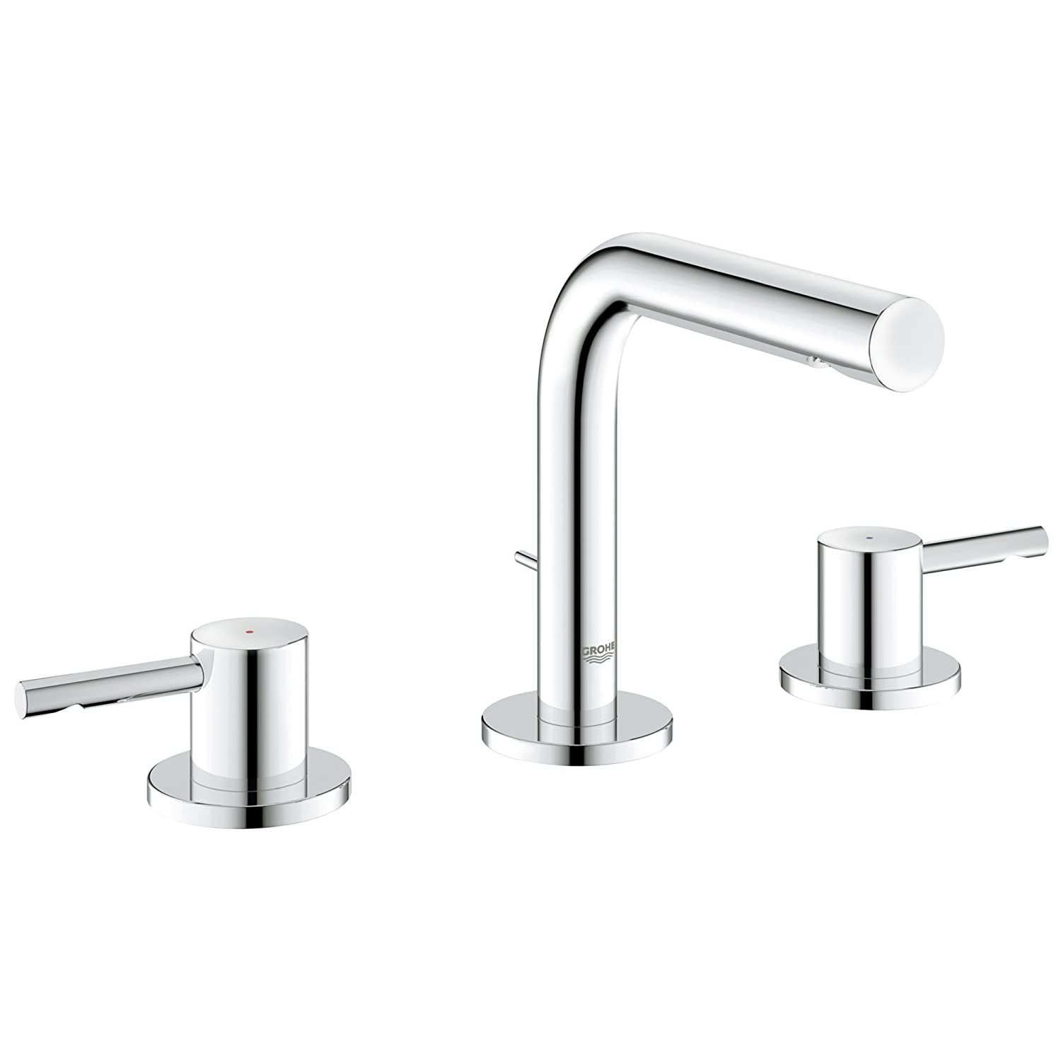 Essence 8 in. Widespread 2-Handle Low-Arc Bathroom Faucet - Touch On ...