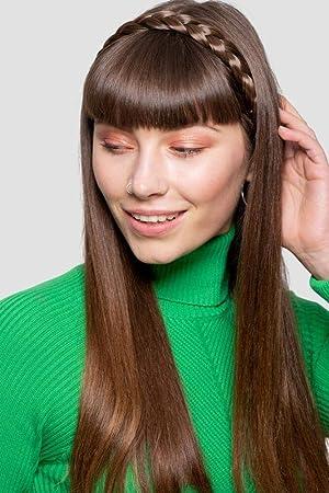 0d9a1f6c58e2b5 Stranded geflochtenes Haarband Haarteil in Box verschiedene Farben ...