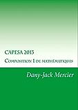 CAPESA 2013 Composition 1 de mathématiques