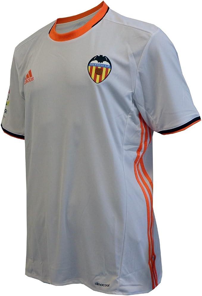 adidas 1ª Equipación Valencia CF - Camiseta Hombre: Amazon.es: Ropa y accesorios