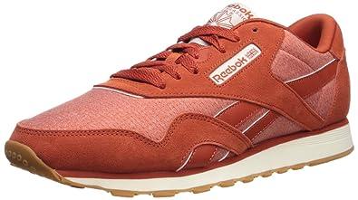 8afeb3c85c45 Reebok Men s Classic Leather Nylon M Sneaker