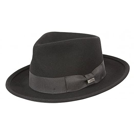 d8ac2eb557f Conner Hats Men s Leroy Fedora Hat at Amazon Men s Clothing store