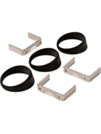 """Auto Meter 3244 Black 2-5/8"""" Angle Ring - Pack of 3"""