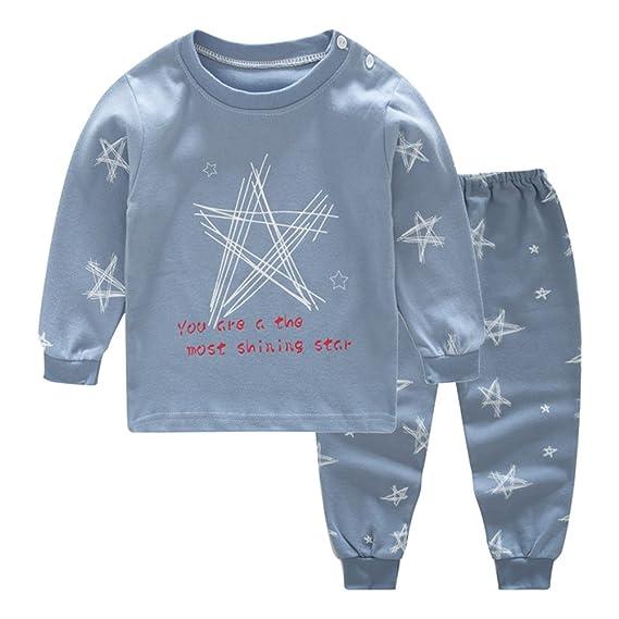 2 piezas pijamas de lana de algodón recién nacido pijamas de invierno de manga larga para