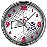 MLB Boston Red Sox MLB-Brs-2238Chrome Clock - State of Mind Style, Multi, One Size