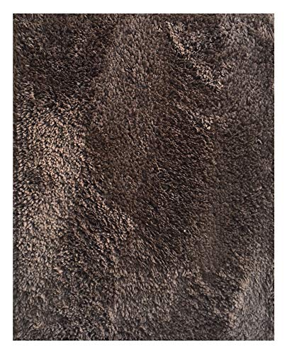 (Mohawk Home Cut to Fit Royale Velvet Plush Bath Carpet, Walnut, 6 by 10 Feet)
