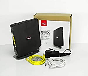 Verizon FiOS Router Updated 2019 - Fios Quantum Gateway G1100 AC1750 Wi-Fi Dual Band Wireless Routers for Internet Long Range + 1 Year Warranty (Renewed)