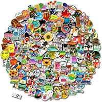 300 PCS Stickers Pack (50-850Pcs/Pack), Colorful Waterproof Stickers for Flask, Laptop, Water Bottle, Cute Aesthetic...